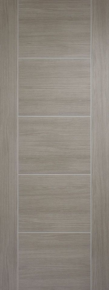 Light Grey Laminated Vancouver Fire Door